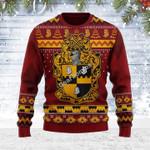 Merry Christmas Gearhomies Unisex Ugly Christmas Sweater Alpha Phi Alpha 3D Apparel