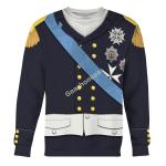 Gearhomies Unisex Sweatshirt Louis XVIII Of France 3D Apparel