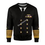 Gearhomies Unisex Sweatshirt US Navy Fleet Admiral Chester W. Nimitz 3D Apparel
