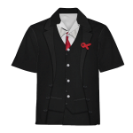 Gearhomies Unisex Hawaiian Shirt Vladimir Lenin Historical 3D Apparel