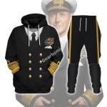 "Gearhomies Unisex Tracksuit Hoodies Pullover Sweatshirt Admiral Of The Fleet Andrew Browne Cunningham ""ABC""  Historical 3D Apparel"