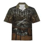 Gearhomies Unisex Hawaiian Shirt Floki Viking Historical 3D Apparel