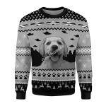 Gearhomies Christmas Sweater UFO Happy Dog 3D Apparel