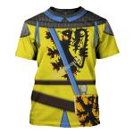 Gearhomies Unisex T-Shirt Louis I Count of Flander 3D Apparel