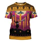 Gearhomies Unisex T-shirt Aliens Take Me Away UFO 3D Apparel