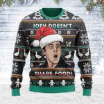 Merry Christmas Gearhomies Unisex Ugly Christmas Sweater Joey Doesn't Share Food 3D Apparel