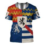 Gearhomies Unisex T-Shirt Sir Francis Lovell 1st Viscount Lovell 3D Apparel