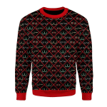Merry Christmas Gearhomies Unisex Christmas Sweater Boobs 3D Apparel