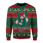 Merry Christmas Gearhomies Unisex Christmas Sweater Hope Your Christmas Is Lit 3D Apparel