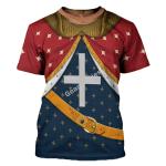 Gearhomies Unisex T-Shirt Richard I of England The Lionhearted 3D Apparel