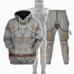 Gearhomies Tracksuit Hoodies Pullover Sweatshirt Medieval Suit of Armor Historical 3D Apparel