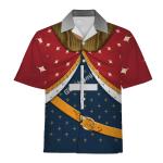 Gearhomies Unisex Hawaiian Shirt Richard I of England The Lionhearted Historical 3D Apparel