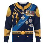 Gearhomies Unisex Sweatshirt King George VI of United Kingdom 3D Apparel