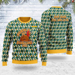 Merry Christmas Gearhomies Unisex Ugly Christmas Sweater Gobble Me Swallow Me 3D Apparel