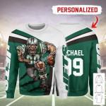Gearhomies Personalized Unisex Sweatshirt New York Jets Football Team 3D Apparel