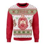 Merry Christmas Gearhomies Unisex Christmas Sweater Delta Sigma Theta Christmas