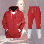 Gearhomies Tracksuit Hoodies Pullover Sweatshirt Samuel Adams Historical 3D Apparel