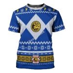Gearhomies T-shirt Power Rangers, Blue