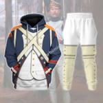 Gearhomies Tracksuit Hoodies Pullover Sweatshirt French Imperial Guard Grenadier Historical 3D Apparel