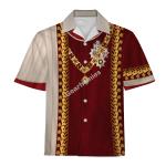 Gearhomies Unisex Hawaiian Shirt Francis II Holy Roman Emperor Historical 3D Apparel