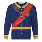 Gearhomies Unisex Sweatshirt King Ludwig II of Bayern 3D Apparel