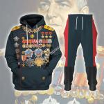 Gearhomies Tracksuit Hoodies Pullover Sweatshirt Georgy Zhukov Soviet General and Marshal Of The Soviet Historical 3D Apparel