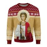 Gearhomies Unisex Christmas Sweater Saint Stefan 3D Apparel
