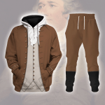 Gearhomies Tracksuit Hoodies Pullover Sweatshirt Alexander Hamilton Historical 3D Apparel