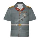 Gearhomies Unisex Hawaiian Shirt Wilhelm II Former German Emperor Historical 3D Apparel