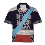 Gearhomies Unisex Hawaiian Shirt Jozef Poniatowski Historical 3D Apparel
