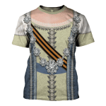 Gearhomies Unisex T-Shirt Catherine the Great 3D Apparel