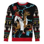 Merry Christmas Gearhomies Unisex Christmas Sweater Christ Jesus Christmas 3D Apparel
