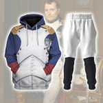 Gearhomies Tracksuit Hoodies Pullover Sweatshirt Napoleon Bonaparte I Historical 3D Apparel