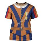 Gearhomies Unisex T-Shirt Swiss Guard 3D Apparel