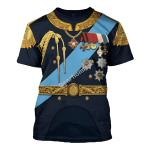 Gearhomies Unisex T-Shirt Nicholas II of Russia 3D Apparel