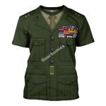 "Gearhomies Unisex T-Shirt Lieutenant General Lewis Burwell ""Chesty"" Puller 3D Apparel"