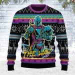 Merry Christmas Gearhomies Unisex Ugly Christmas Sweater 80s The Way 3D Apparel