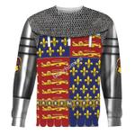 Gearhomies Unisex Sweatshirt Edward The Black Prince Armor 3D Apparel