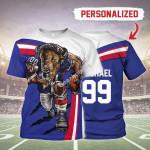 Gearhomies Personalized Unisex T-Shirt Buffalo Bills Football Team 3D Apparel