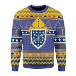 Merry Christmas Gearhomies Unisex Christmas Sweater Costa Rica Roman Catholic Ugly Christmas