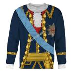 Gearhomies Unisex Sweatshirt Pyotr III of Russia 3D Apparel
