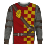 Gearhomies Unisex Sweatshirt Scottish Knight 3D Apparel