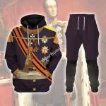 Gearhomies Tracksuit Hoodies Pullover Sweatshirt William II of the Netherlands Historical 3D Apparel