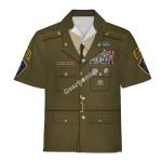 Gearhomies Unisex Hawaiian Shirt US Army Greens Historical 3D Apparel