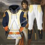 Gearhomies Tracksuit Hoodies Pullover Sweatshirt Joachim-Napoleon Mura Historical 3D Apparel
