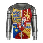 Gearhomies Unisex Sweatshirt Royal Arms of Scotland 3D Apparel