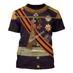 Gearhomies Unisex T-Shirt William II of the Netherlands 3D Apparel