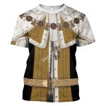 Gearhomies Unisex T-Shirt George II of Great Britain 3D Apparel