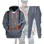 Gearhomies Tracksuit Hoodies Pullover Sweatshirt The Romanian Army World War I Historical 3D Apparel