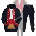 Gearhomies Tracksuit Hoodies Pullover Sweatshirt John Paul Jones Revolutionary War Historical 3D Apparel